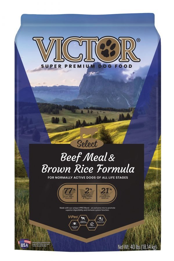 Beef Meal and Brown Rice Formula, Dry Dog Food, 40LB